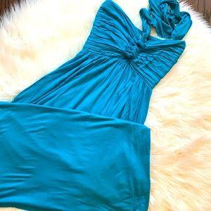 Catwalk Studio Turquoise Maxi Dress